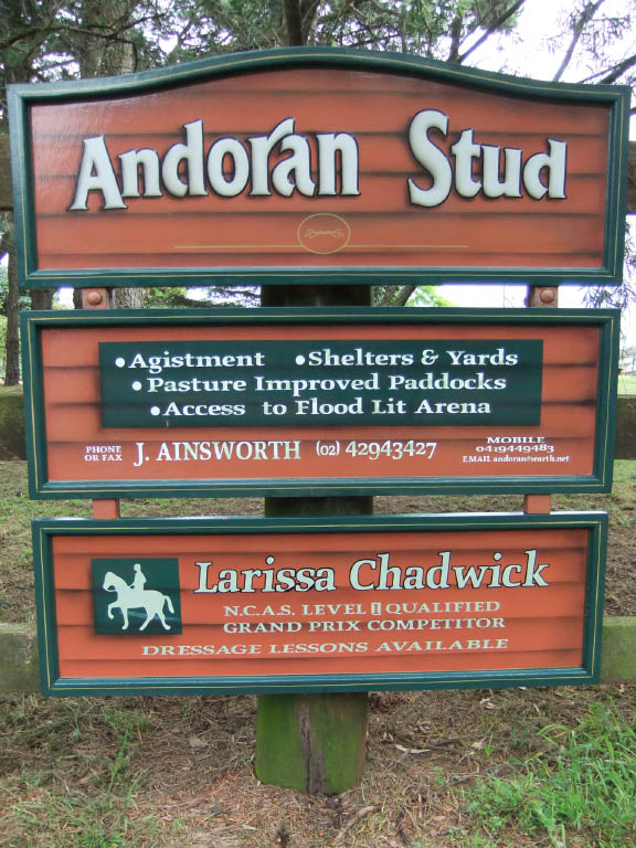 View from the road - Andoran Stud
